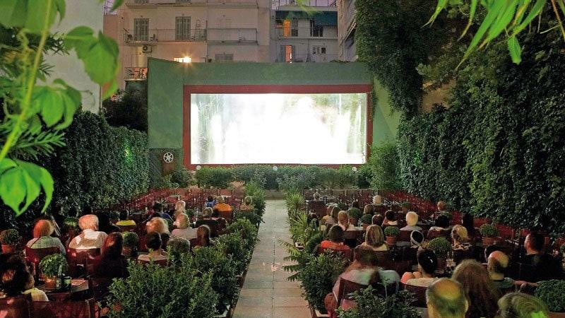 θερινοί κινηματογράφοι