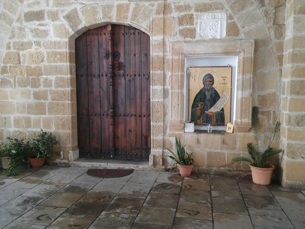Ξύλινη πόρτα