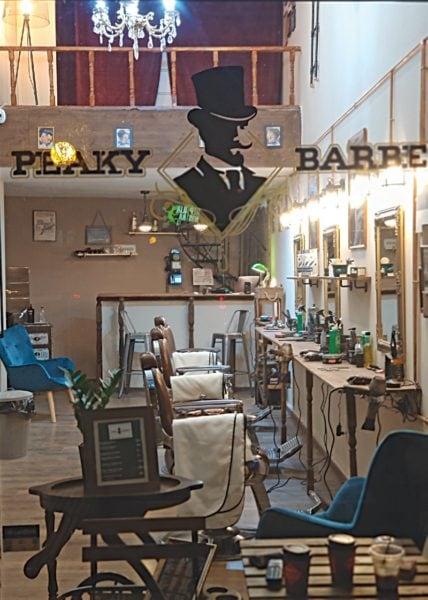 peaky barbers εσωτερικό