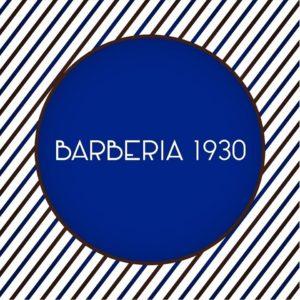 logo barberia 1930