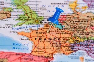 Χάρτης Γαλλίας