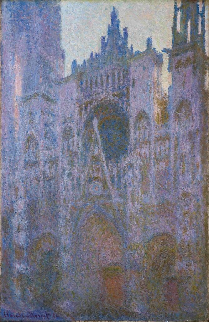 Claude Monet_La cathédrale de Rouen le matin