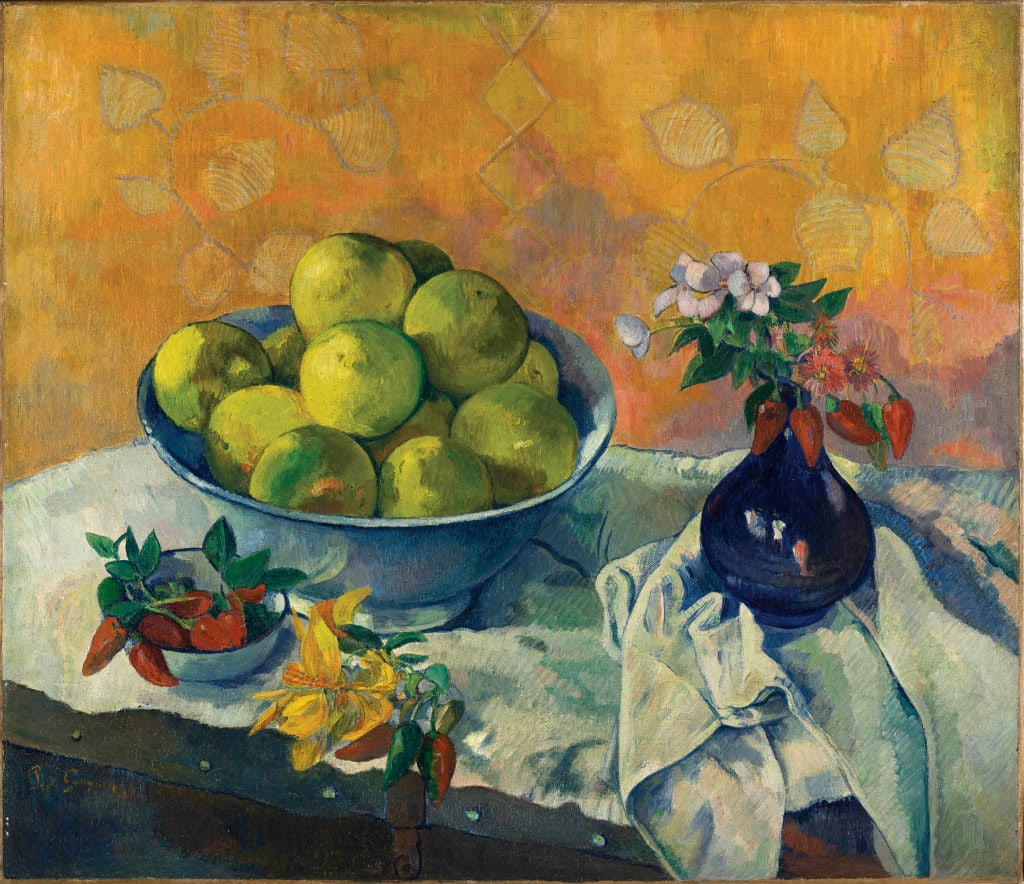 Paul Gauguin_Nature morte aux Pamplemousses