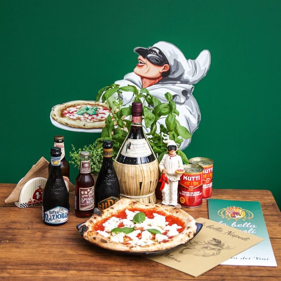 La Bella Napoli πίτσα