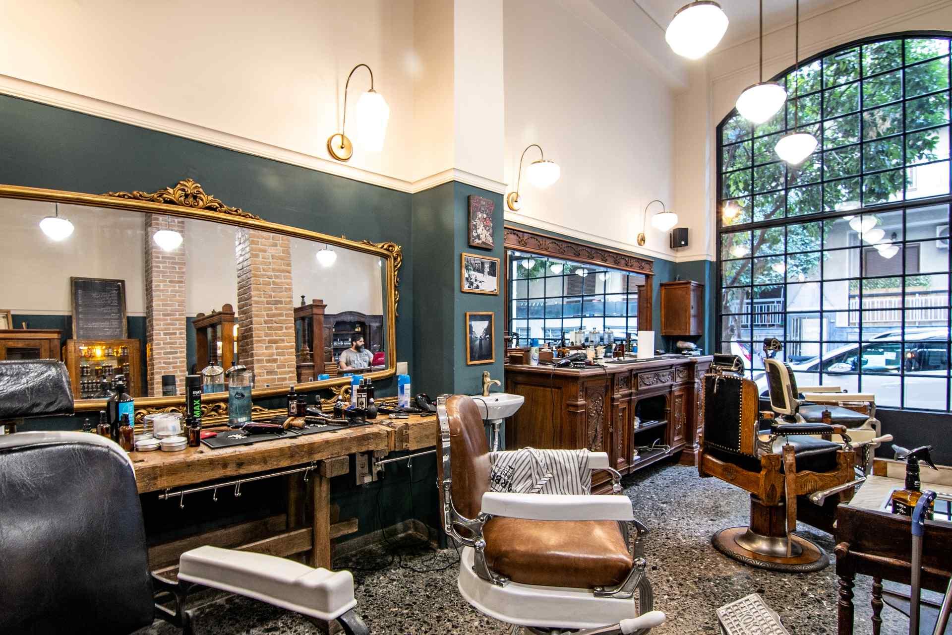 Boss Hogg Barber μπαρμπεράδικα barbershop κουρείο μπαρμπέρικο