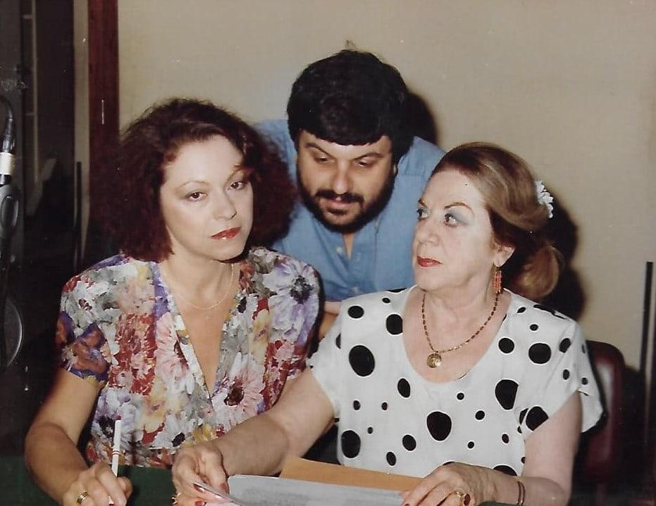 Με την Ρένη Πιττακή και τη Μαίρη Αρώνη