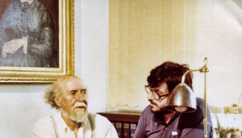 Ο Βασίλης Νικολαΐδης με τον Γιάννη Τσαρούχη
