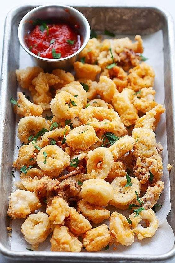 squid-fried